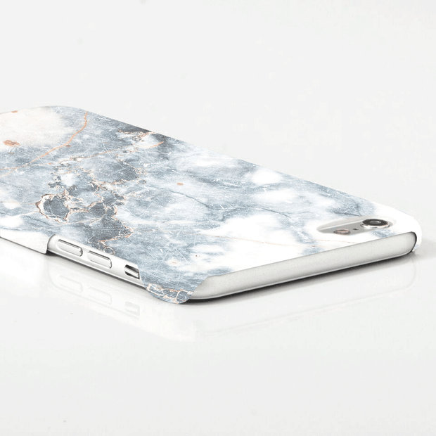 iPhone Case - Retro White Marble - colourbanana