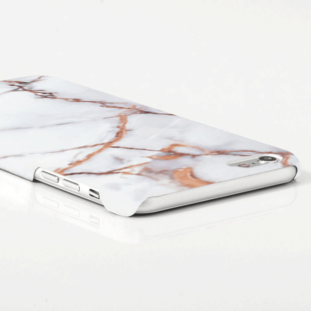 iPhone Case - Cream Marble - colourbanana