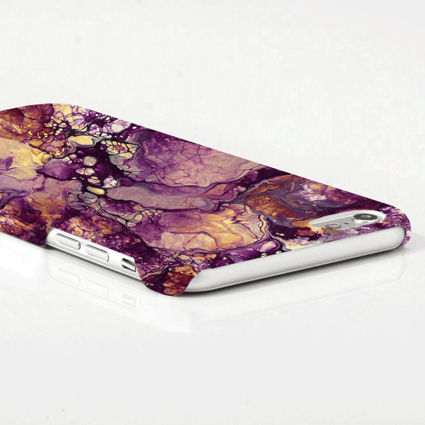 MacBook Case Set - Purple Marble