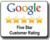 Google 5-Star Customer Rating