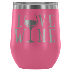 Love Wine - 12oz  Stemless Wine Tumbler