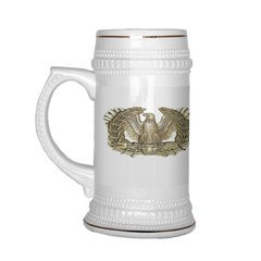 "CW3 ""Top Block"" 22oz Beer Stein (DA 67-10-2)"