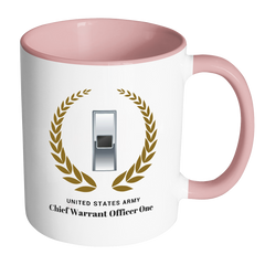 WO1 11oz Accent Mug