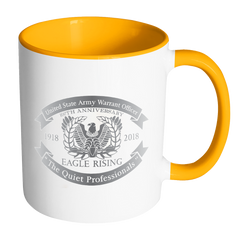 Warrant Officer Accent Mug (EAGLE RISING)