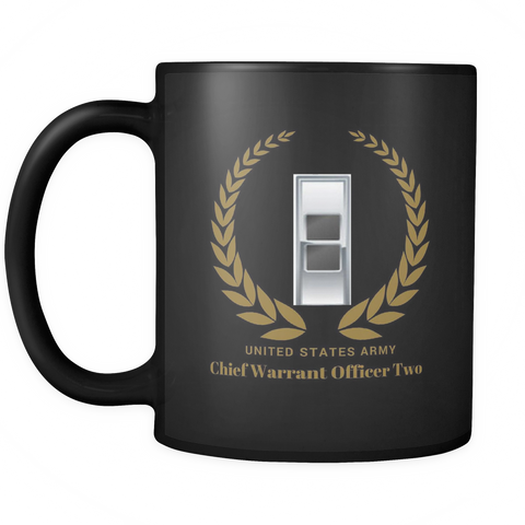 CW2 - 11oz All Black Mug