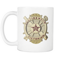 Logistics All White 11oz Mug (LG)