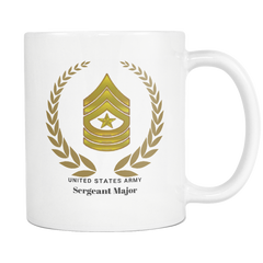 SGM - All White 11oz Mug