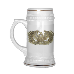 "WO1 ""Top Block"" 22oz Beer Stein (DA 67-10-1)"
