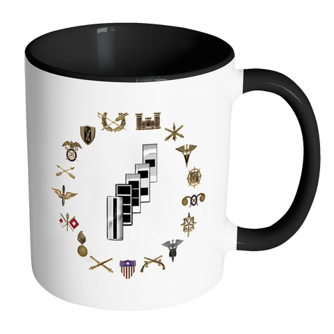 Warrant Officer Accent Mug (Branch Mug W1-W5)