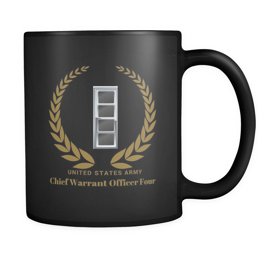 CW4 - 11oz All Black Mug