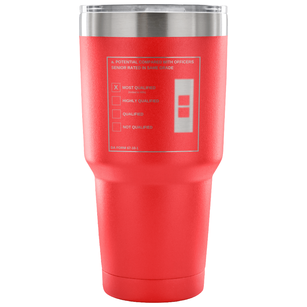 "CW2 ""Top Block"" 30oz Tumbler (DA 67-10-1)"