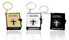 3 Mini Bible Keychains (NMB0001)
