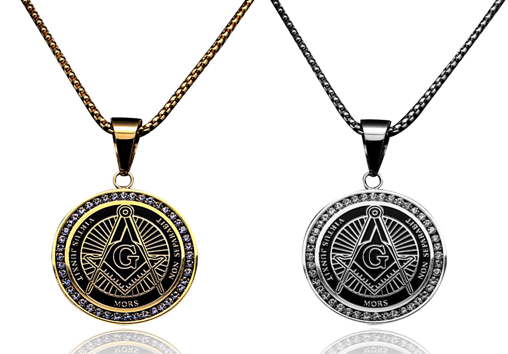 Masonic Square and Compass Pendant (LXE2001)