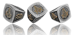 Square & Compass Ring (SCR000)