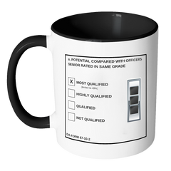 "CW3 ""Top Block"" Accent Mug (DA 67-10-2)"