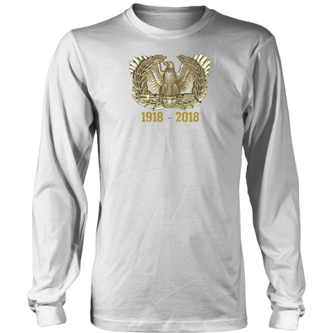 Warrant Officer 1918-218 Long Sleeve Tee - (Unisex)