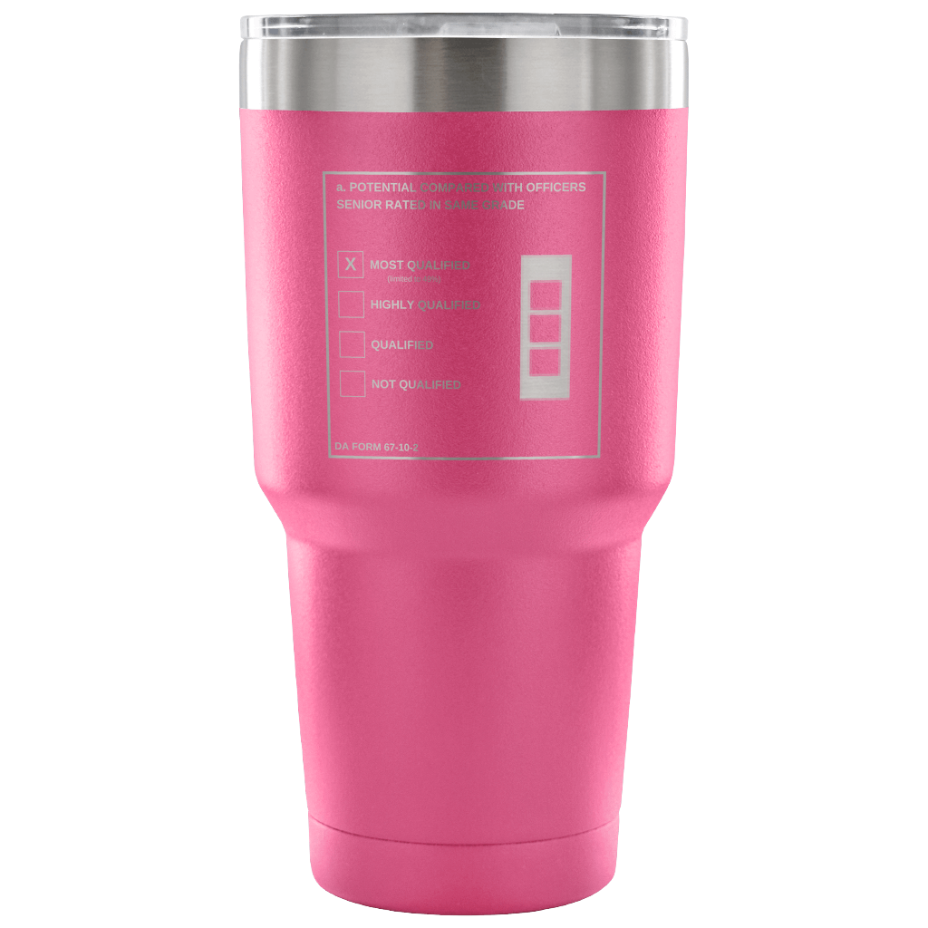 "CW3 ""Top Block"" 30oz Tumbler (DA 67-10-2)"
