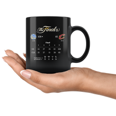 GSW - Finals 11oz All Black Mug
