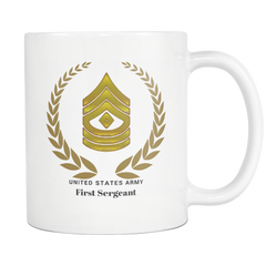 1SG - All White 11oz Mug