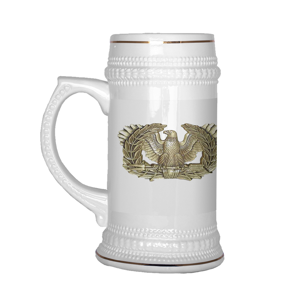 "CW4 ""Top Block"" 22oz Beer Stein (DA 67-10-2)"