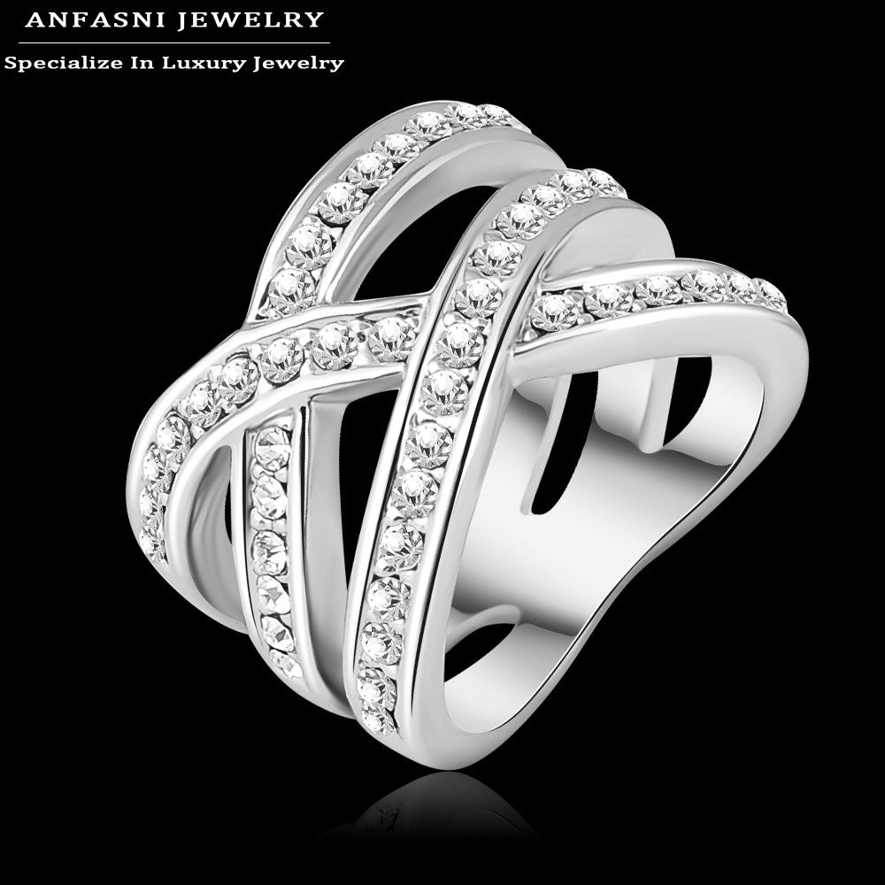 Genuine Stellux - Austrian Crystal Luxury Ring For Women