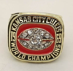 1969 Kansas City Chiefs Super Bowl World Championship Ring