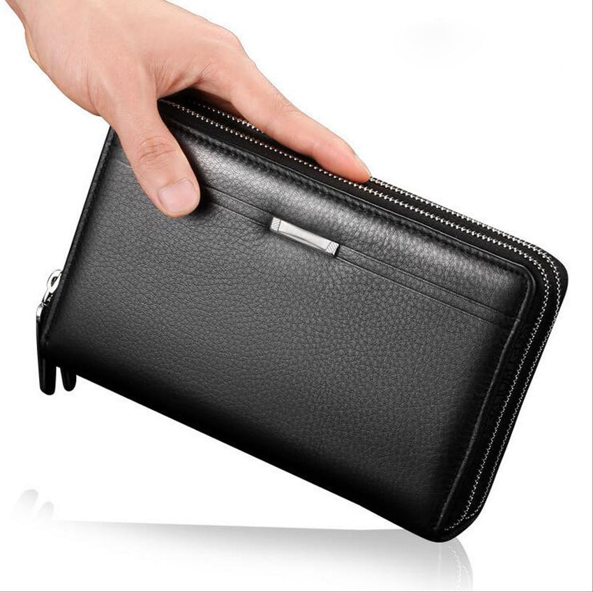 Luxury Brand Business Men's Wallet -  Cell Phone Holder