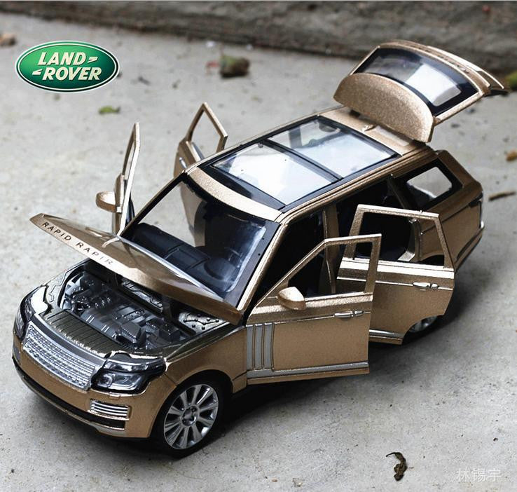 Range Rover Alloy Die-cast Car Model - Pull Back Toy Car Electronic
