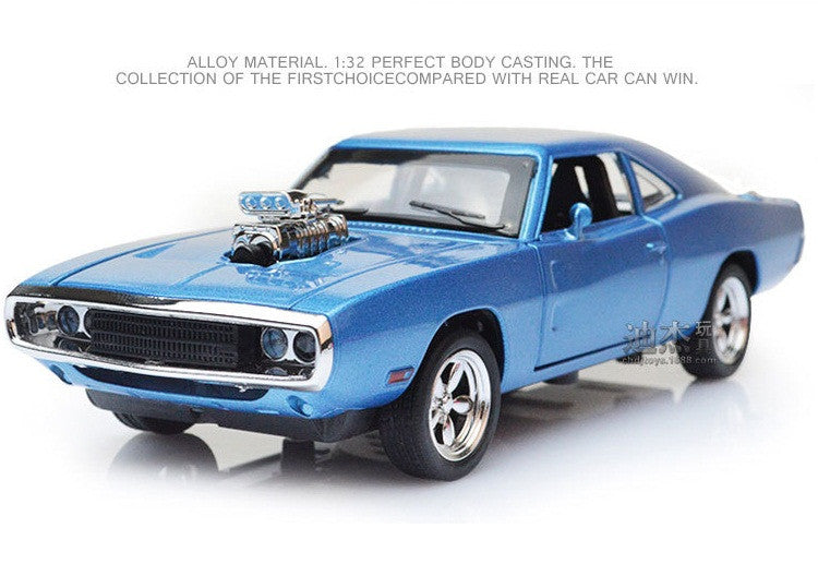 The Fast And The Furious Dodge Charger Alloy Car Models kids toys for children Metal Classical Cars