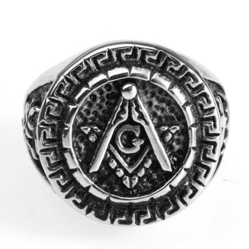 Vintage Knight Templar Masonic Ring (UXQ0000)
