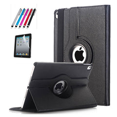 Cover For Apple iPad Pro 10.5 inch Case PU Leather Flip Smart Stand 360 Rotating Case Cover
