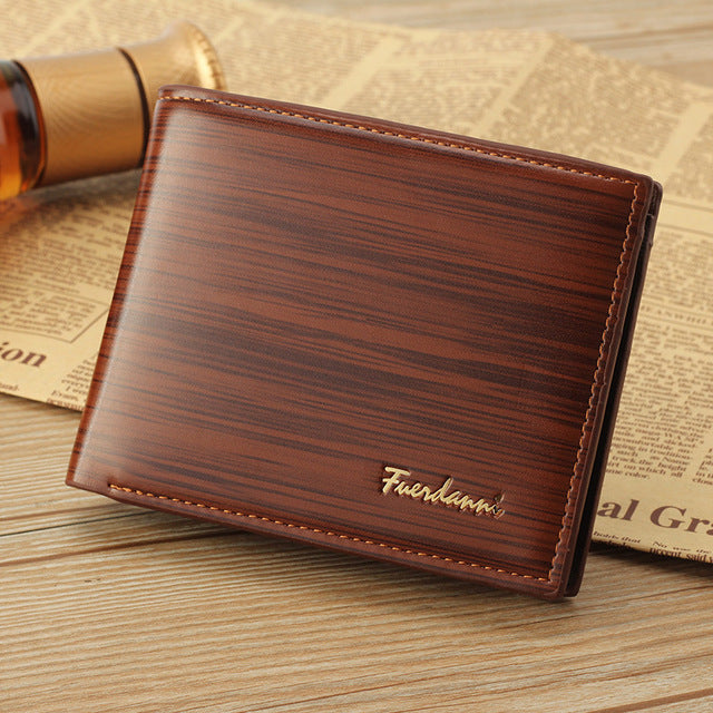Leather Wallets - Vintage Slim Wallet