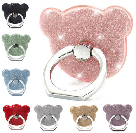 Original Glitter Cute Luxury 360 Degree Finger Ring Stand - Universal Smartphone Holder