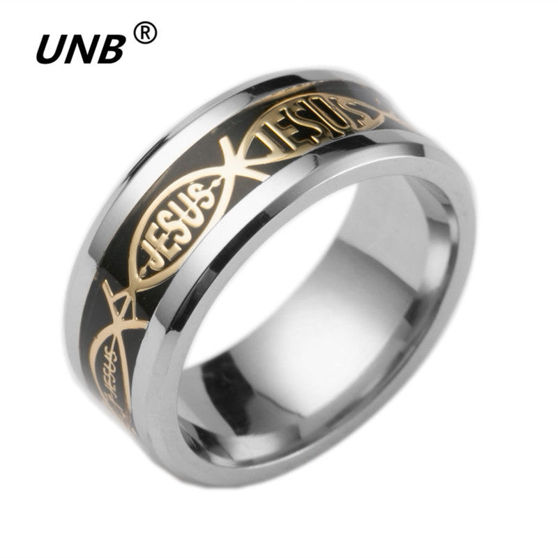 Jesus Fashion Ring - Christianity Jewelry
