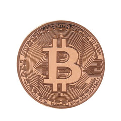 Bitcoin Collection - Gold Plated Bronze