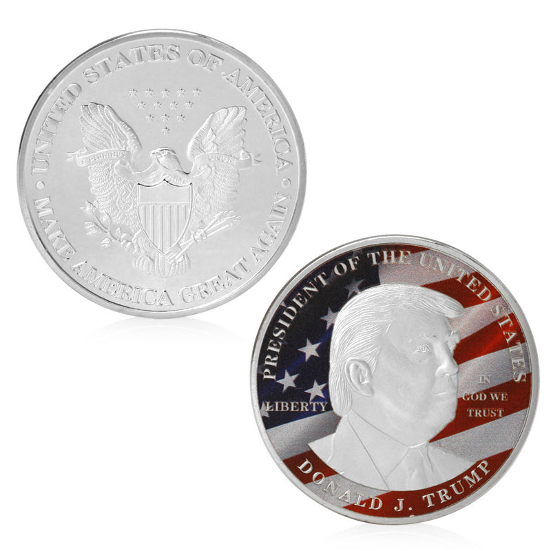 Donald Trump - Make America Great Again President Commemorative Coin