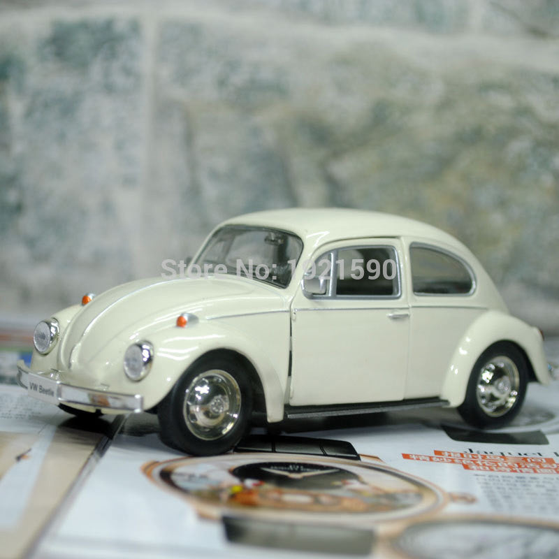 1967 Volkswagen Beetle Die-cast Metal, Pull Back Car