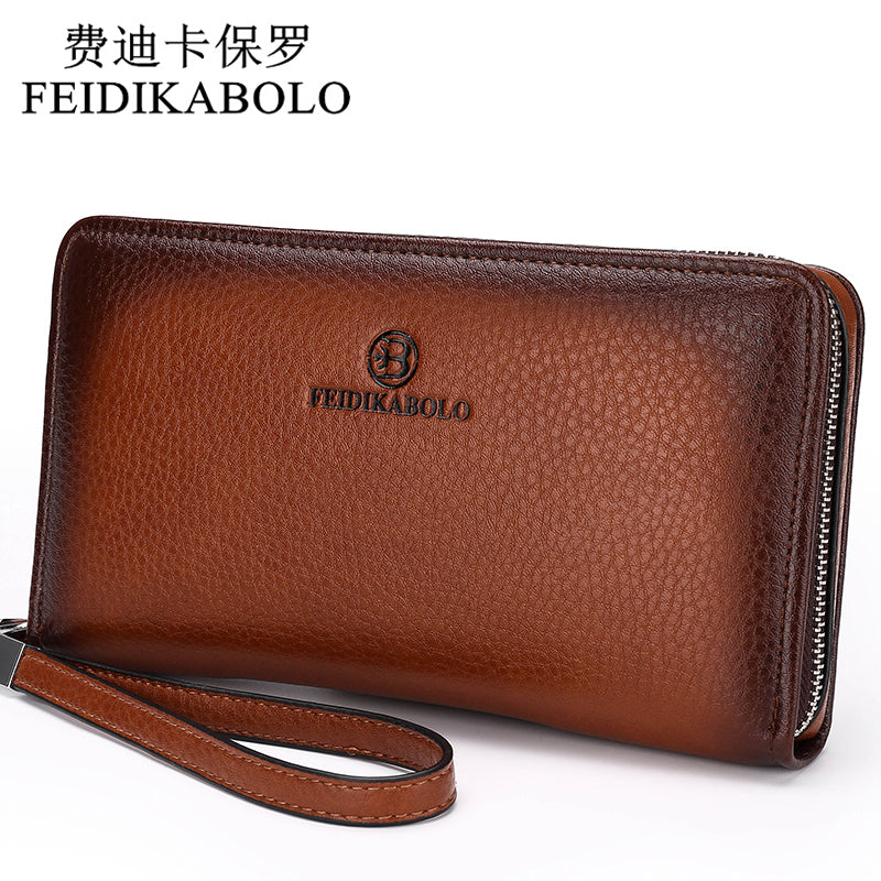Luxury Male Leather Wallet - Business Casual Wallet For Men