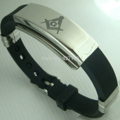 Fashion Masonic Biker's Bracelet - Bangle (CMB000)