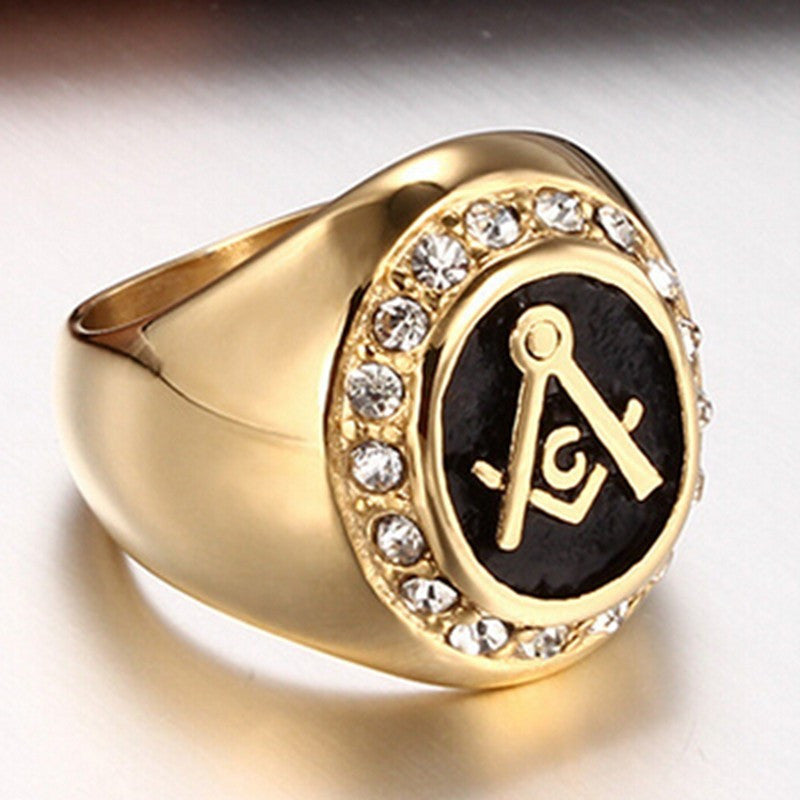 18K Gold Masonic Ring (SBF0000)