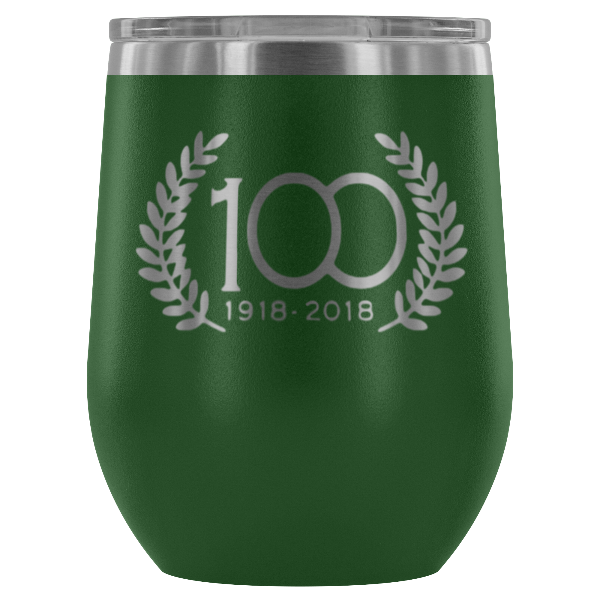 12oz. Stemless Wine Tumblers (100th Anniversary)