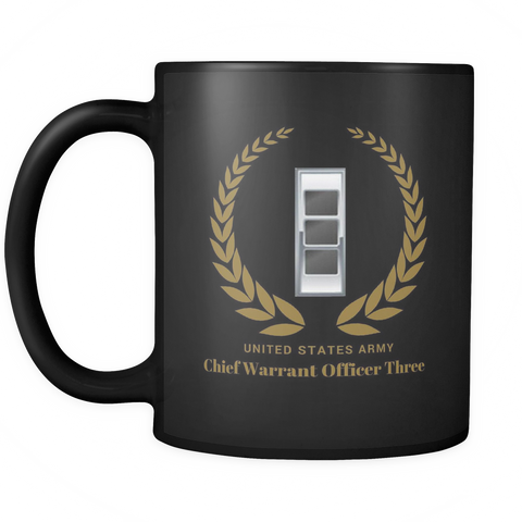 CW3 - 11oz All Black Mug