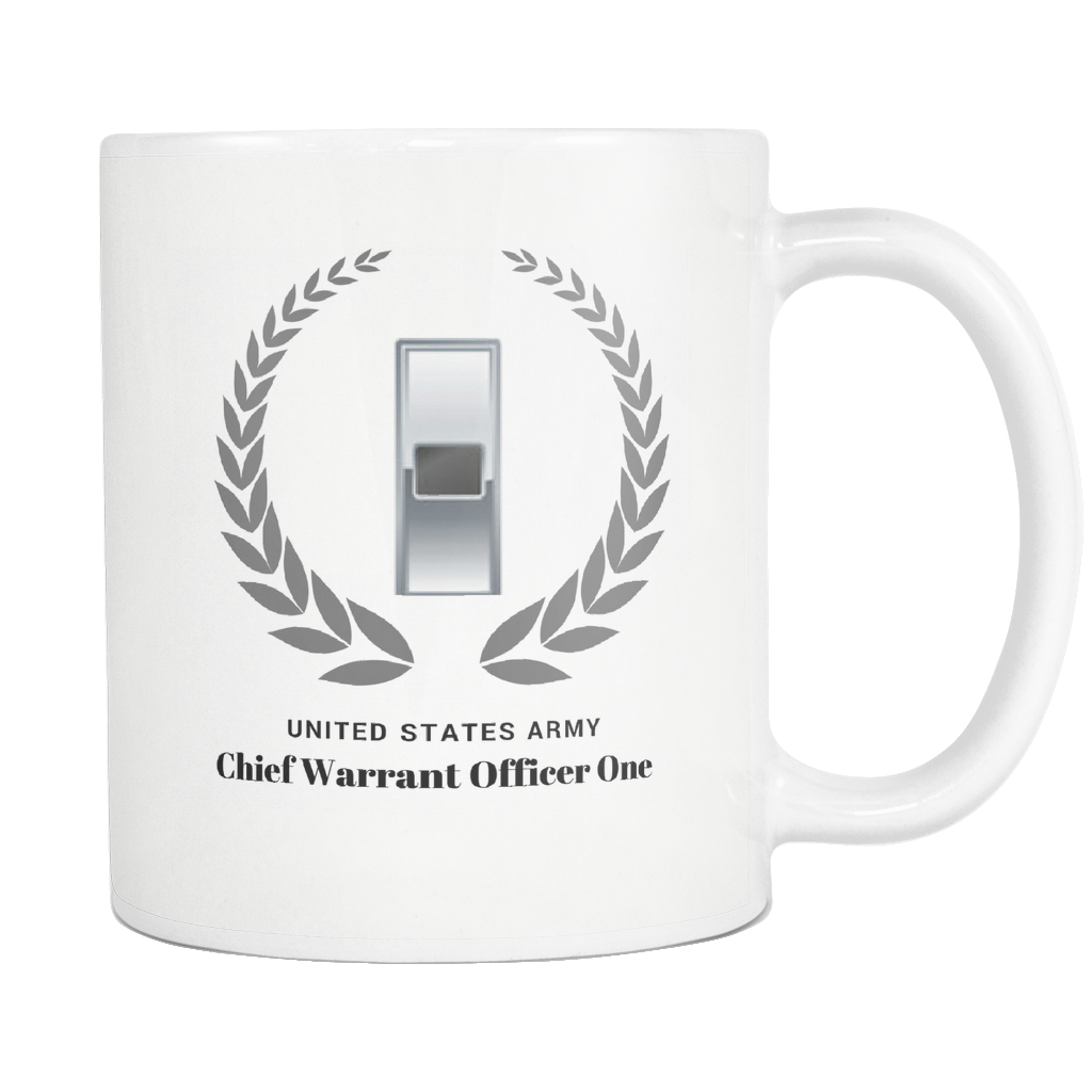 WO1 - 11oz All White Mug