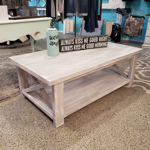 Custom Built Coffee Table