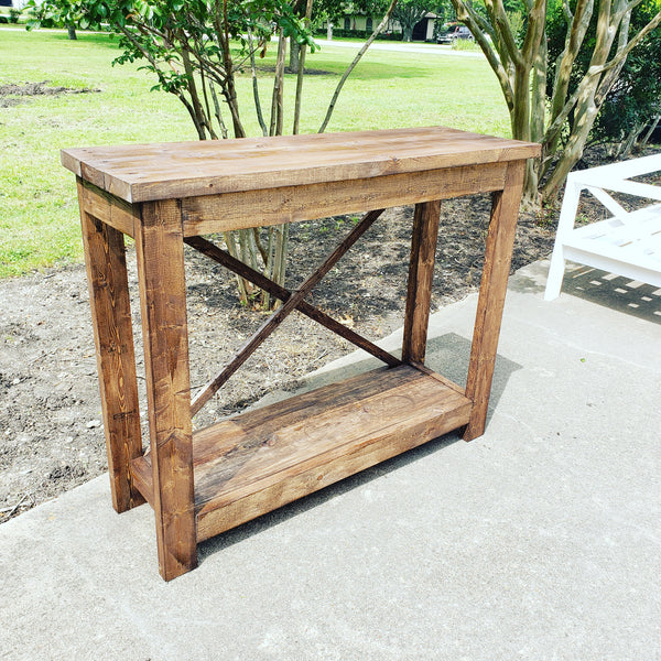 Custom Built Entry Table