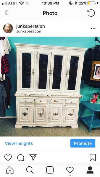 Custom Painted Furniture