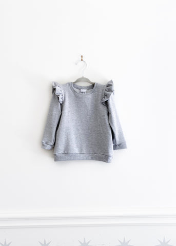 The Ruffle Pullover | London Fog