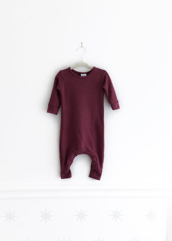 Basics Collection | Burgundy