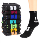 7 Day Socks Black