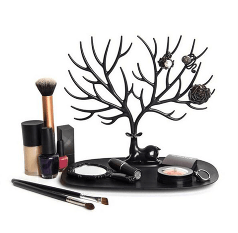Deer Tray Jewellery Display Make up Black